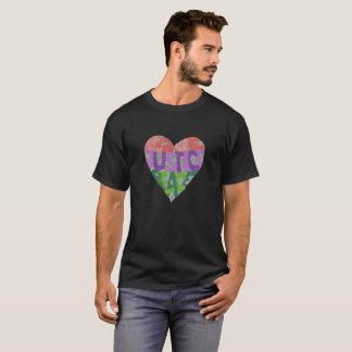 Camiseta Amor, justiça, paz - o T dos homens