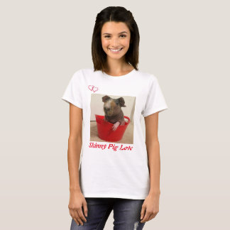 Camiseta Amor magro do porco