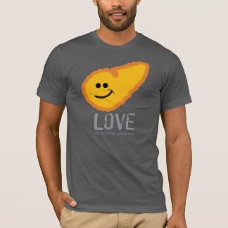 Camiseta Amor.  Meu pâncreas precisa o amor! - Diabetes
