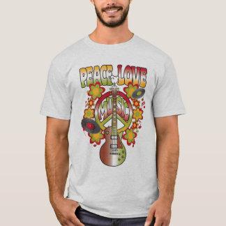 Camiseta Amor & música da paz