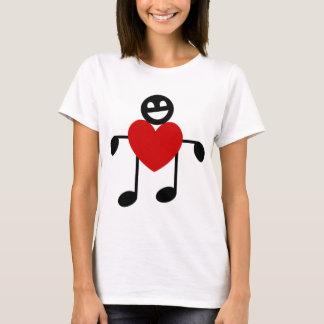 Camiseta Amor musical