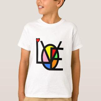 Camiseta amor nas cores