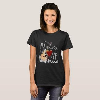 Camiseta Amor Nashville do t-shirt das mulheres de África