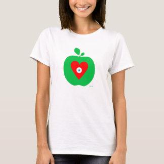 Camiseta Amor New York Apple do olho