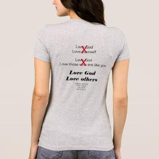 Camiseta Amor outro um t-shirt