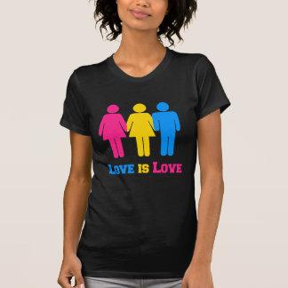 Camiseta Amor Pansexual