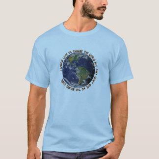 Camiseta Amor para mudar o t-shirt do código fonte do mundo
