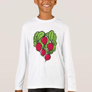 Camiseta Amor para rabanetes