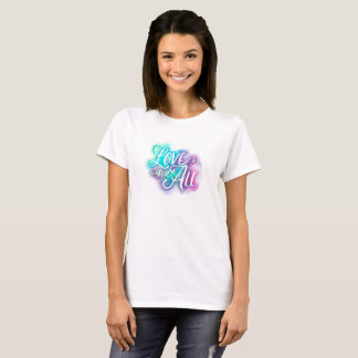 Camiseta Amor para todo o T básico