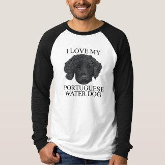 Camiseta Amor PORTUGUÊS do CÃO de ÁGUA!