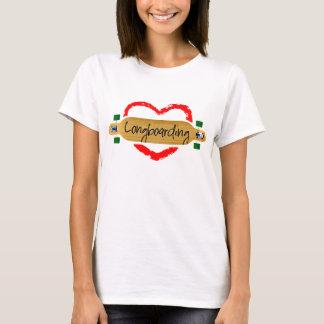 Camiseta Amor que longboarding