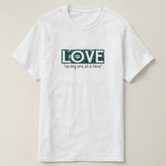 Camiseta Amor que salvar um de cada vez