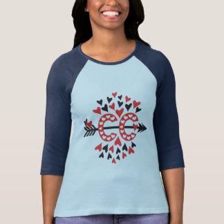 Camiseta Amor Running do país transversal