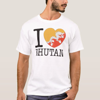 Camiseta Amor v2 de Bhutan