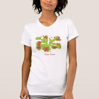 Camiseta Amor verdadeiro para Flytraps de Venus