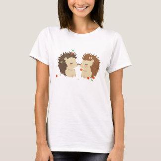 Camiseta Amor WomanTshirt dos ouriços