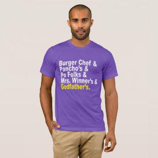 Camiseta Ampersand: Recordando restaurante de Baton Rouge