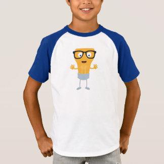 Camiseta Ampola do geek com vidros Z76fc