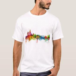 Camiseta Amsterdão a skyline holandesa