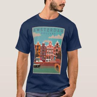 Camiseta Amsterdão cidade