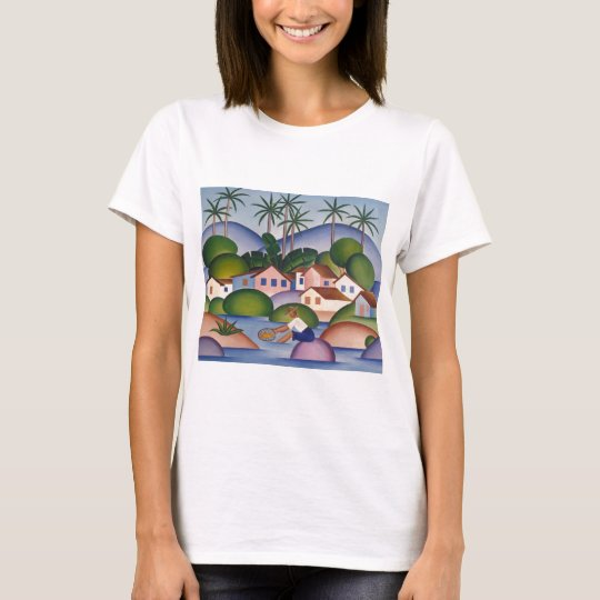 Camiseta An Angler - tarsila do Amaral