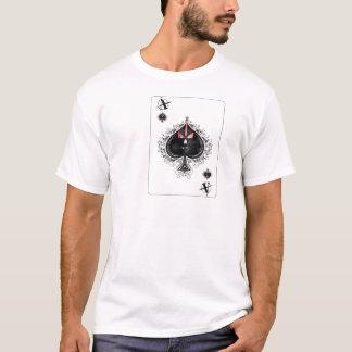 Camiseta anarquia do t-shirt das pás