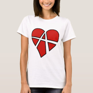 Camiseta Anarquia imprudente do coração das relações