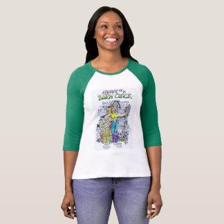 Camiseta Anatomia de um Tshirt de BarnChick