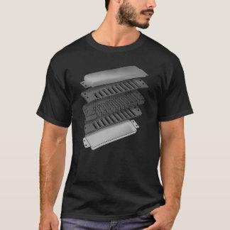 Camiseta Anatomia de uma harpa dos azuis