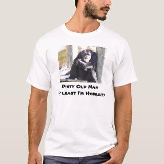 Camiseta , Ancião sujo (pelo menos eu sou honesto)