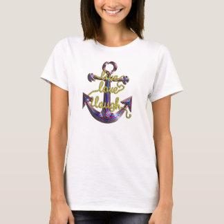 Camiseta Âncora viva do riso do amor