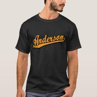 Camiseta Anderson na laranja