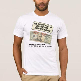Camiseta Andrew Jackson eu matei os bancos