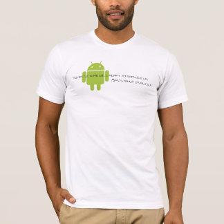 Camiseta Android-borg