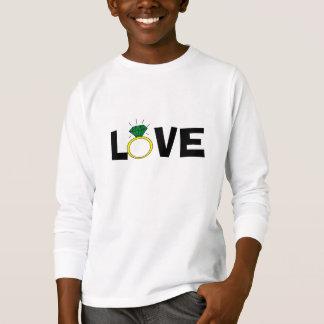 Camiseta Anel do amor