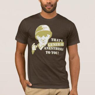 Camiseta Anestesia geral