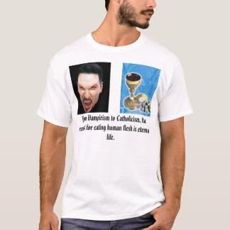Camiseta anfitrião do cálice, vampiro, de Vampiris…