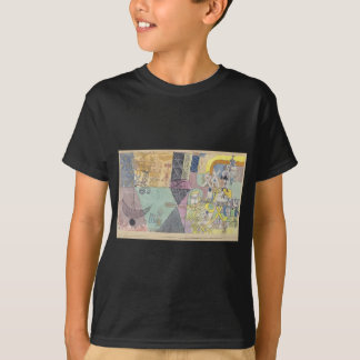 Camiseta Anfitriões asiáticos por Paul Klee
