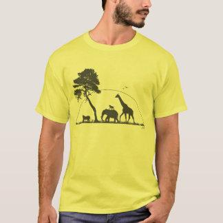 Camiseta Animais de África
