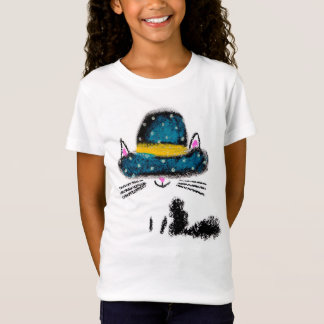 Camiseta Animais de estimação bonito do gato