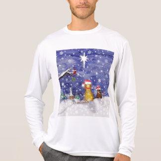 Camiseta Animais de estimação do Natal - arte