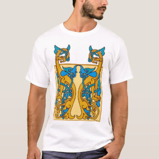 Camiseta Animais de Knotwork do céltico
