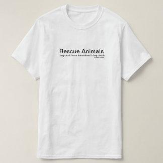 Camiseta Animais do salvamento