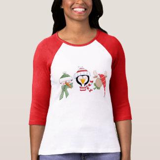 Camiseta Animais do trio do Natal
