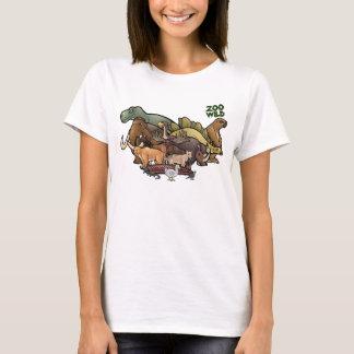 Camiseta Animais extintos