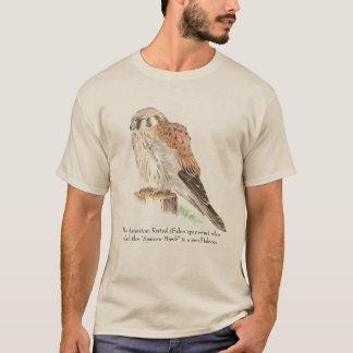Camiseta Animais selvagens americanos do Kestrel da