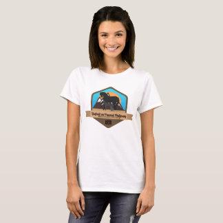 Camiseta Animais sombreados Hoofbeats e Pawprints