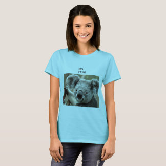 Camiseta Animal bonito adorável do urso peludo