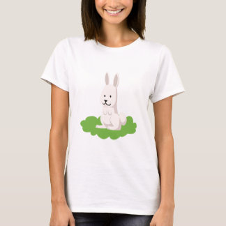 Camiseta animal bonito do coelho
