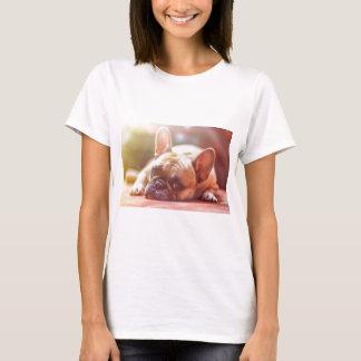Camiseta Animal de estimação do buldogue francês
